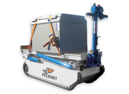 Pelichet robot transferring equipment.