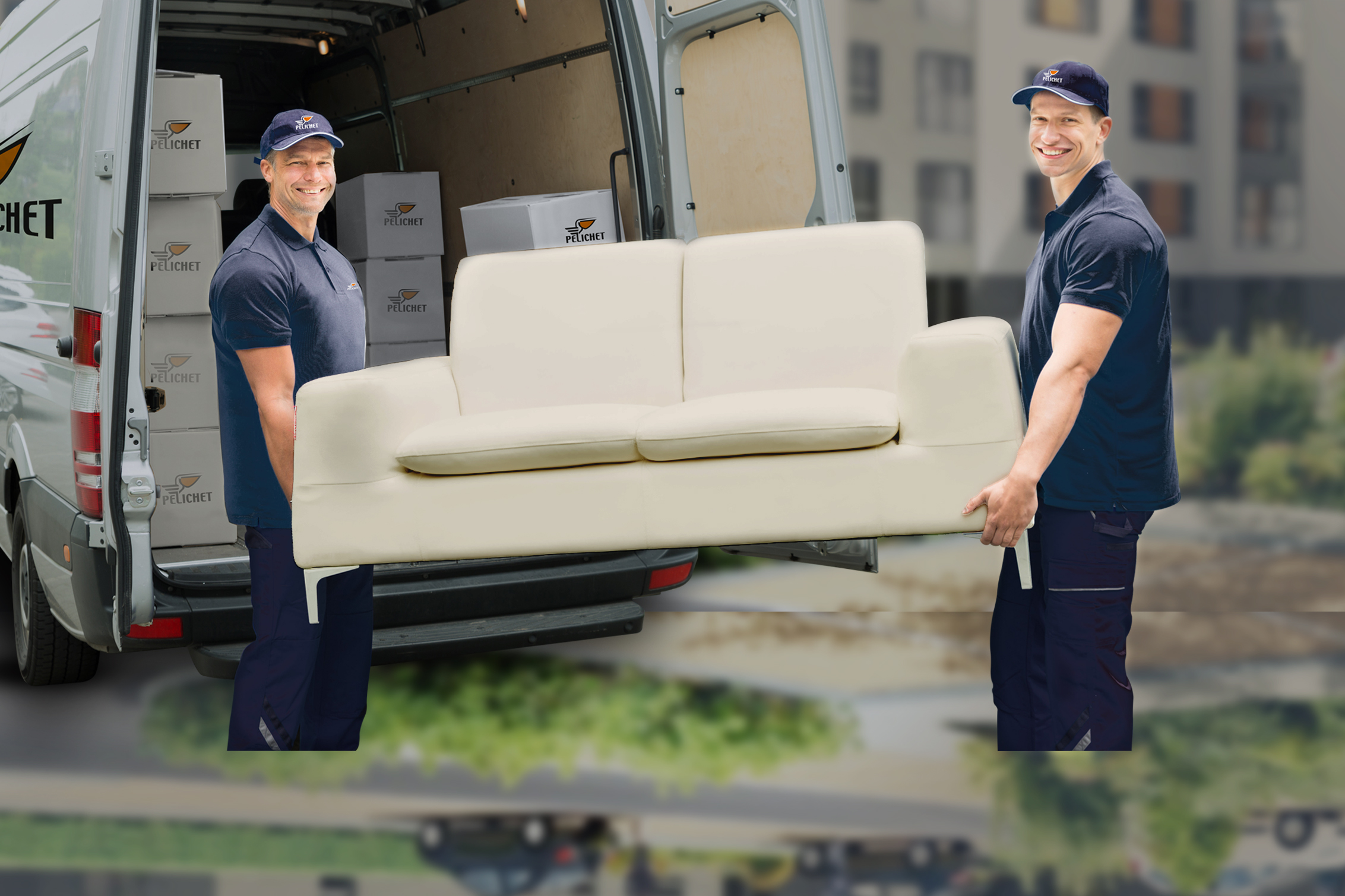 The Pelichet Group takes care of your relocation needs